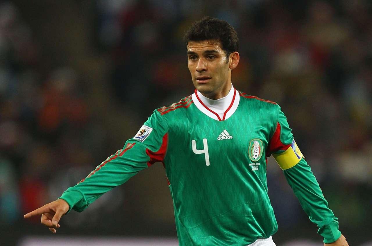 Mexico captain Rafael Marquez