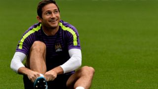 Frank Lampard Manchester City training