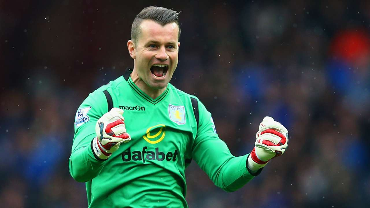 Shay Given Aston Villa