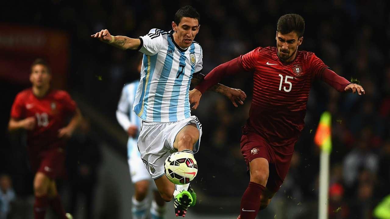 Angel Di Maria | Argentina 0-1 Portugal | International Friendly