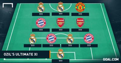 Mesut Ozil Ultimate XI