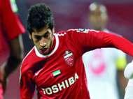 ماجد حسن لاعب وسط الأهلي والمنتخب الإماراتي