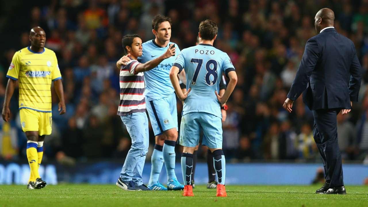 Frank Lampard | Manchester City 7-0 Sheffield Wednesday | Capital One Cup | Etihad Stadium