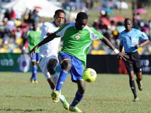Kenya U-20 team in action.