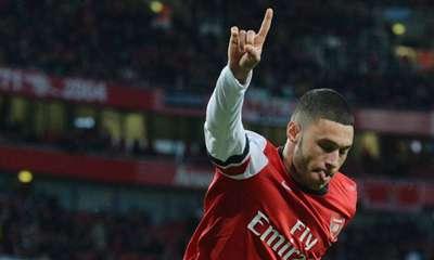 Alex Oxlade-Chamberlain Arsenal Crystal Palace EPL 02022014