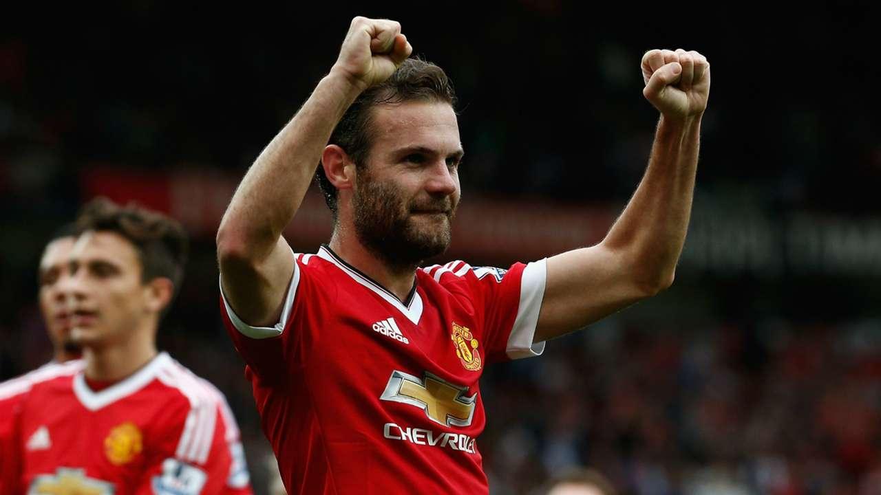Juan Mata Manchester United Premier League 26092015
