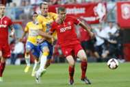 Aurelien Joachim en Andreas Bjelland, FC Twente - RKC Waalwijk