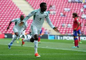 U20 World Cup: Kayode Olanrewaju of Nigeria celebrates