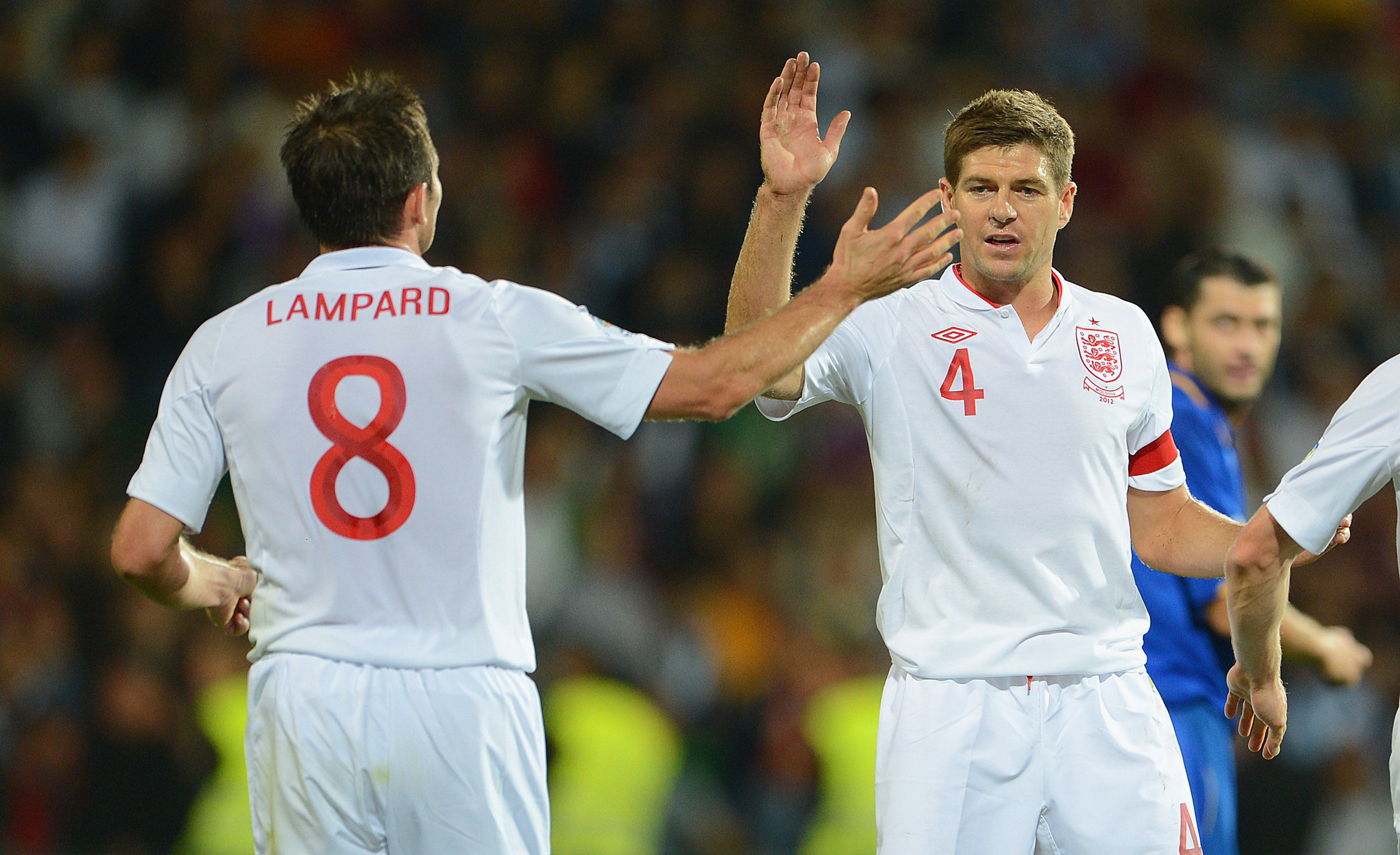 Frank Lampard Steven Gerrard World Cup 2014 qualifie 09072012