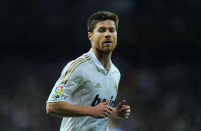 Real Madrid midfielder Xabi Alonso