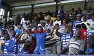 AFC Leopards' fans at Machakos Stadium