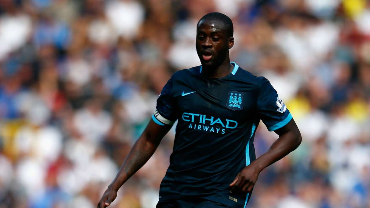 Yaya Toure Premier League Tottenham v Manchester City 260915