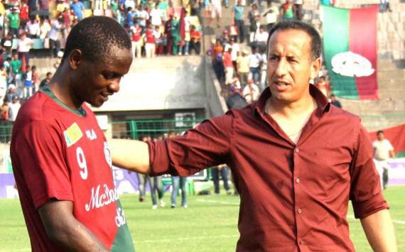 Red and Golds are in talks with former Mohun Bagan coach Karim Bencharifa (Image: Anandabazar)