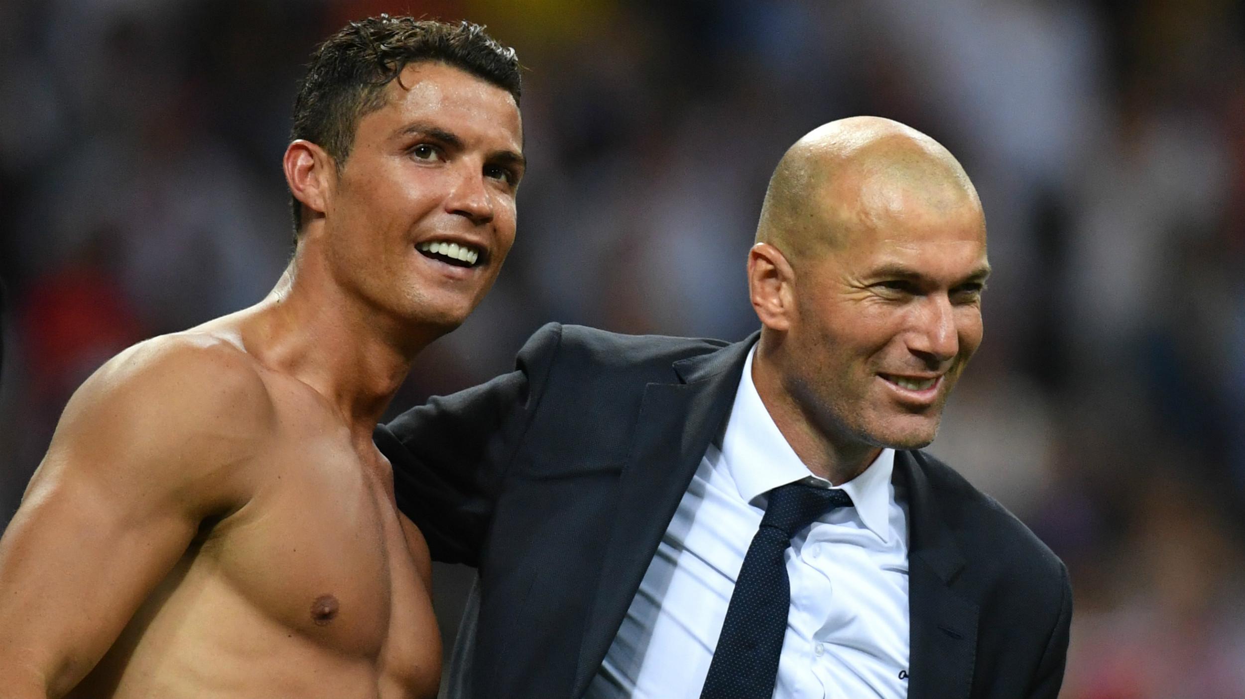 HD Cristiano Ronaldo Zinedine Zidane Real Madrid Champions League 28052016