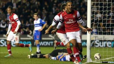 arsenal vs reading 5-7