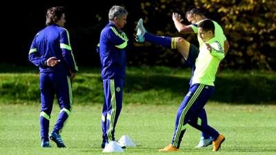 Jose Mourinho Eden Hazard Chelsea Champions League 20102014