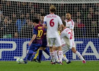 Messi vs Bayer Leverkusen