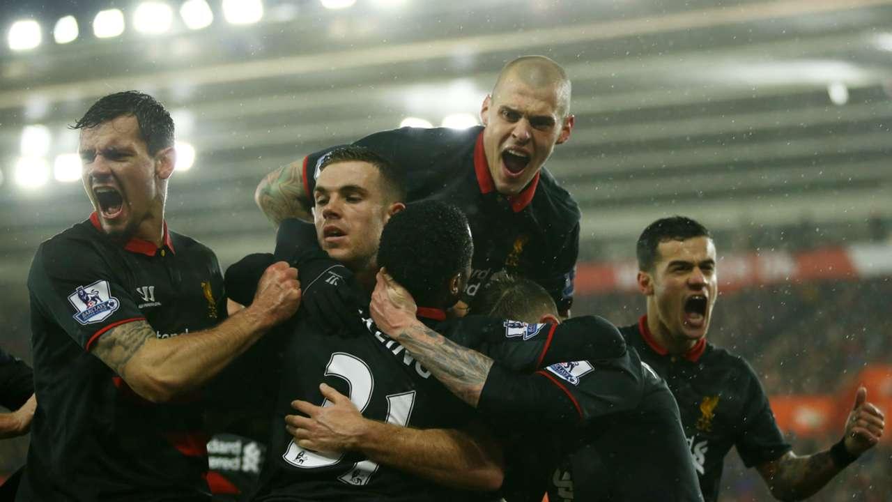 Sunday's Top Premier League Stats   Liverpool