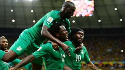Yaya Toure Wilfried Bony Ivory Coast