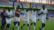 Ghana Under-17 Women celebrate