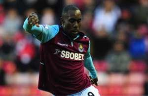 West Ham United striker Carlton Cole