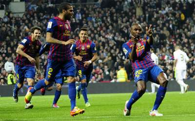 Real Madrid - Barcelona 2012 Copa del Rey Cuartos Santiago Bernabeu