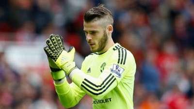 David de Gea Manchester United Sunderland Premier League 26092015