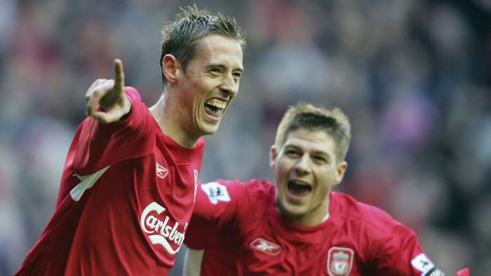 Peter Crouch Premier League Liverpool 2005