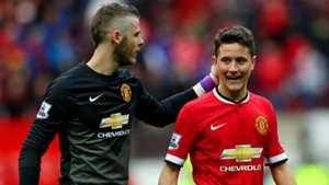 David de Gea Ander Herrera Manchester United Premier League 04042015