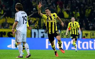 In der letzten Saison schoss Robert Lewandowski Real Madrid noch fast alleine ab