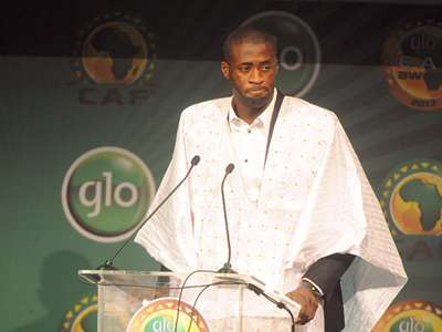Yaya Toure CAF African Footballer of the Year 01092014