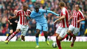 Yaya Toure | Manchester City Stoke | 30082014