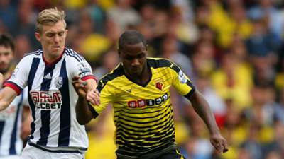 Odion Ighalo Watford West Brom Premier League 15082015