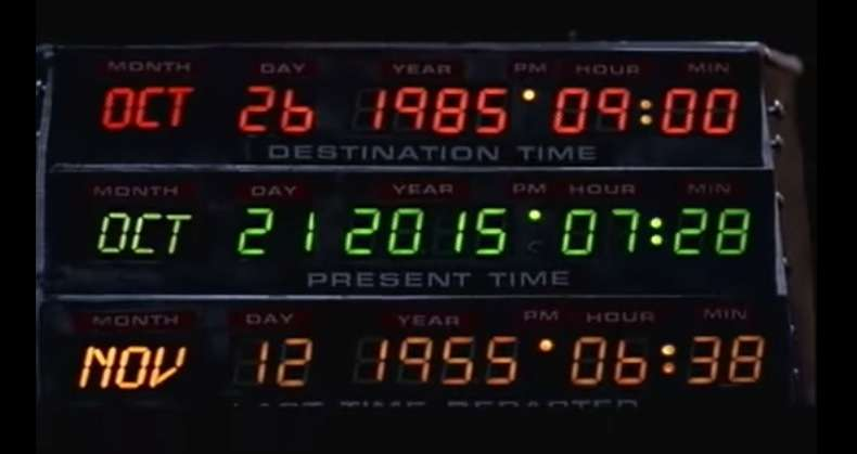 Back to the Future: Travelling back to 1985 with Marty McFly