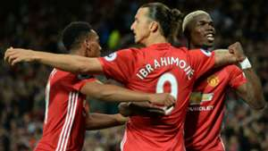 Zlatan Ibrahimovic Paul Pogba Manchester United Premier League