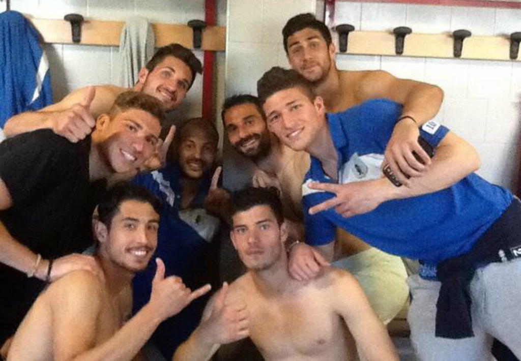 La Virtus Entella festeggia la promozione in Serie B