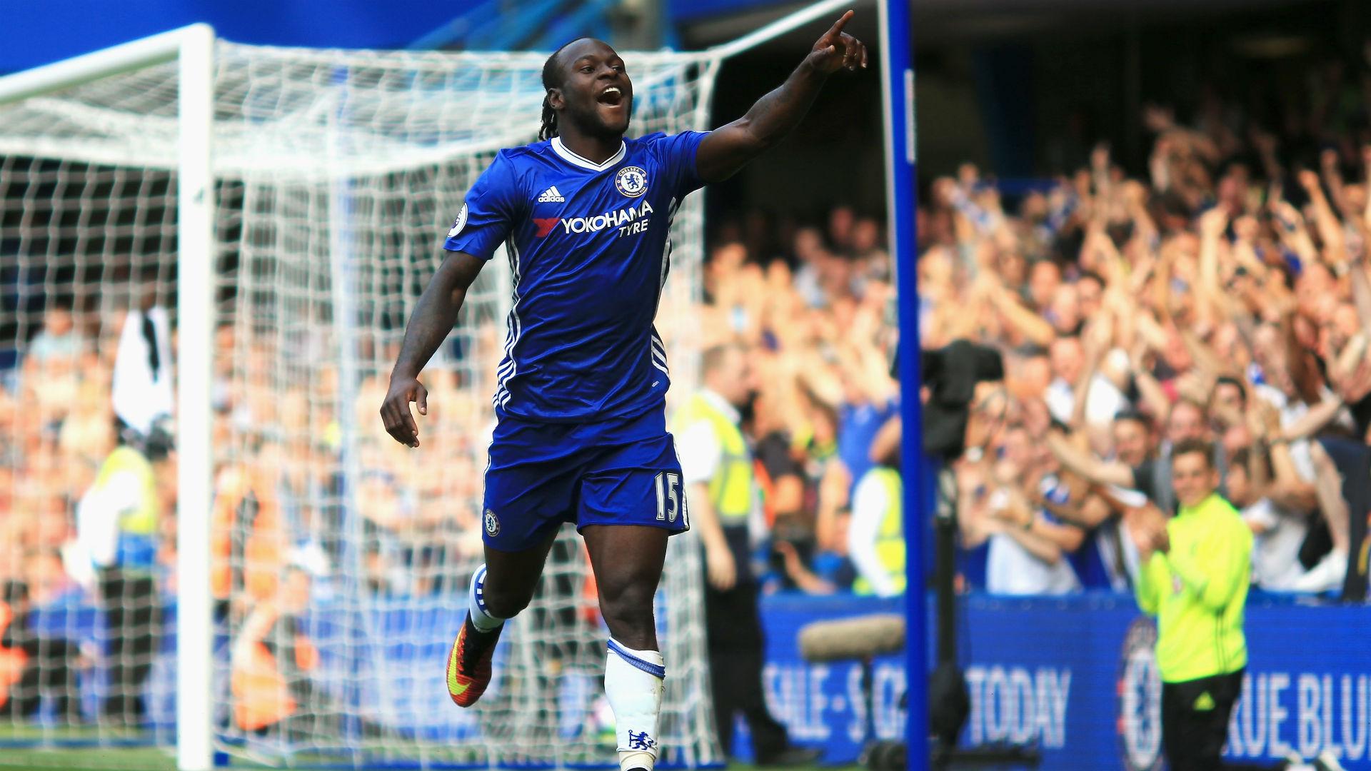 Victor Moses Premier League Chelsea v Burnley 270816
