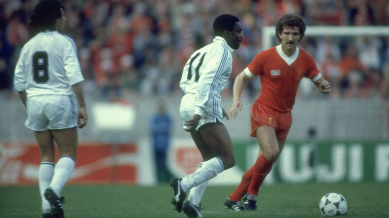 Graeme Souness Lawrie Cunningham Liverpool Real Madrid 1981