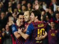 Messi, Xavi, Iniesta - FC Barcelona