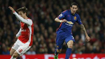 Angel Di Maria Manchester United Arsenal