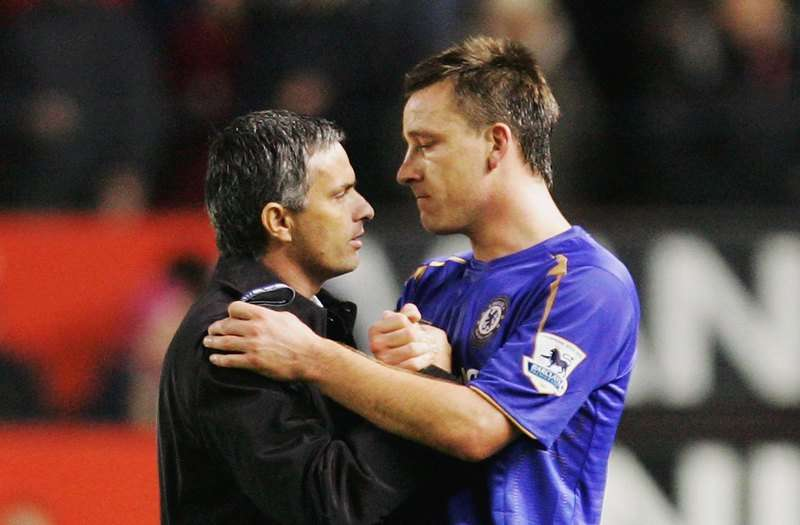 John Terry ve Jose Mourinho (2005)