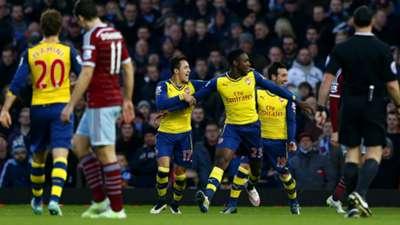 Danny Welbeck | West Ham 1-2 Arsenal