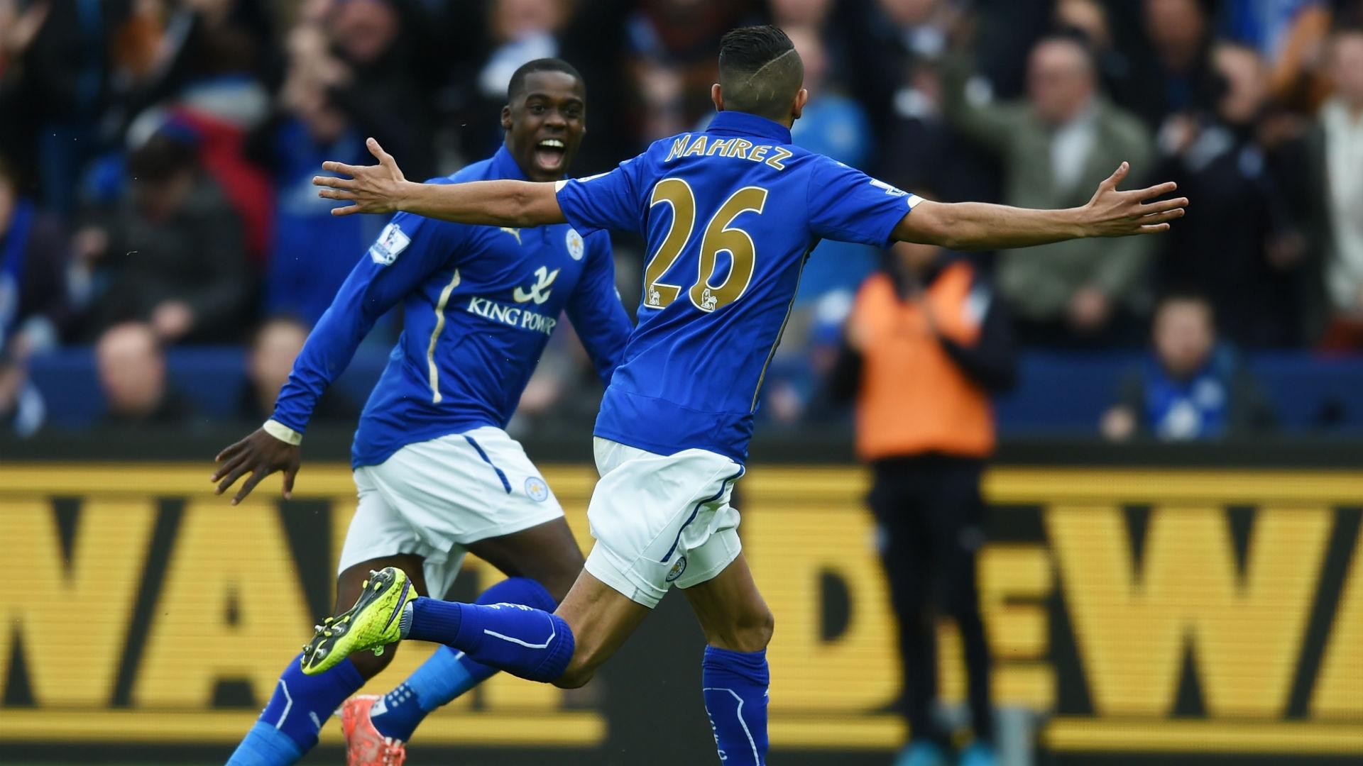 Riyad Mahrez Leicester v Southampton Premier League 090515
