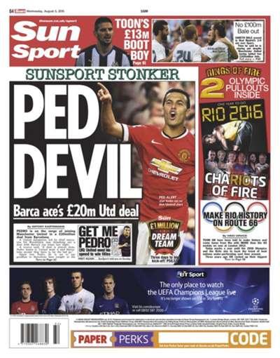 European Newspaper Round-Up | 05082015 | Sun