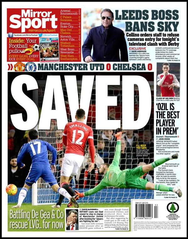 Daily Mirror 291215