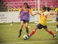 FAS Singapore U14 girls trials 13112013