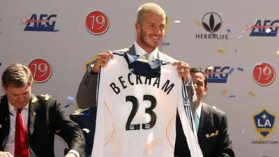 David Beckham joins LA Galaxy