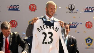 David Beckham joins LA Galaxy