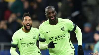 Yaya Toure Manchester City 24022016