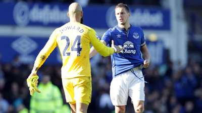 Tim Howard Premier League Everton v Southampton 040415